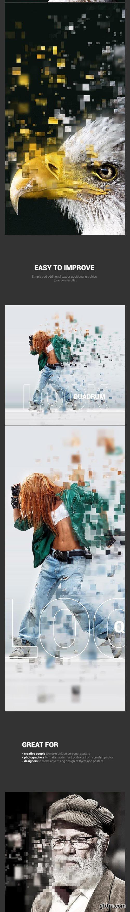 GraphicRiver - Quadrum PS Action - 12029373