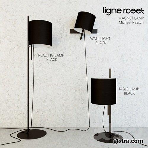 Ligne Roset Magnet Lamp 3d Model