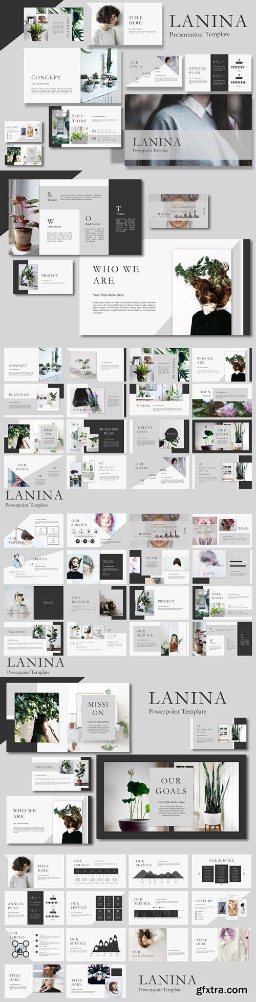 Lalina Presentation Template [PPTX/KEY]