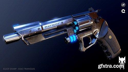Sci-Fi Revolver + Practice Kit
