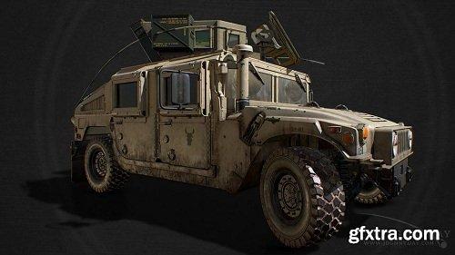 M1151 hmmwv 3d Model