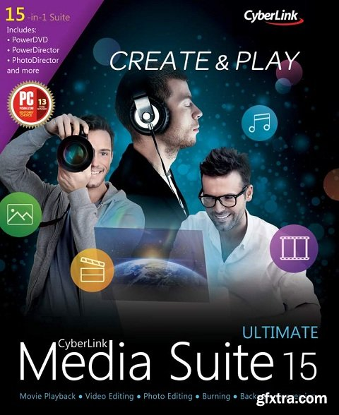 CyberLink Media Suite Ultra 16.0.0.1807 (30/6)