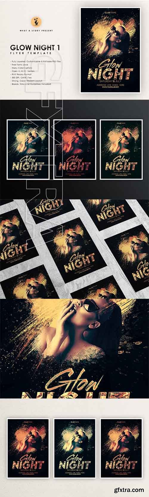 CreativeMarket - Glow Night 1 2659444