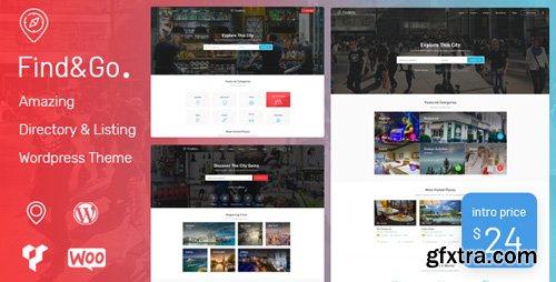 ThemeForest - Findgo v1.2.14 - Directory & Listing WordPress Theme - 21943352