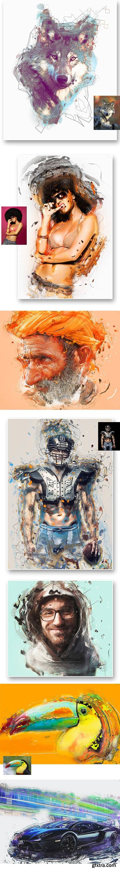 GraphicRiver - Konstruct Photoshop Action - 8599270