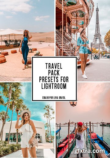 Livia Brasil Travel LR Presets Complete Pack