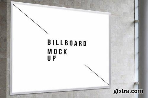 Square Billboard Mock Up