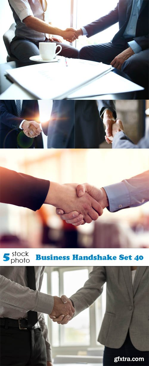 Photos - Business Handshake Set 40