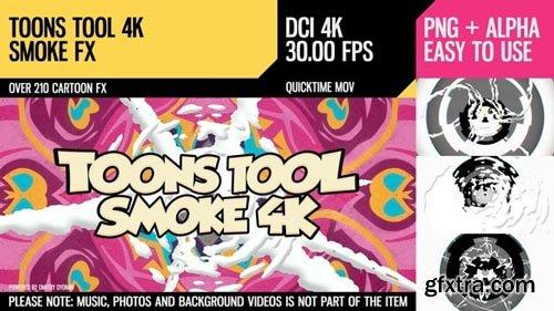 Videohive - Toons Tool 4K (Smoke FX) - 21100302