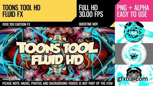 Videohive - Toons Tool HD (Fluid FX) - 21202477