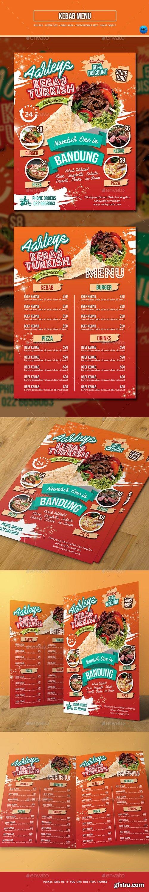 Graphicriver - Kebab Menu Template 20925151