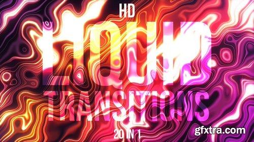 Videohive Liquid Transitions 21837903
