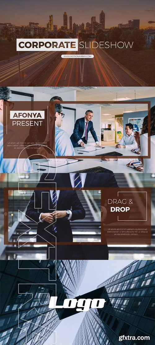 Corporate Slideshow - After Effects 90623