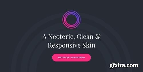 CodeCanyon - Neptune v1.0.2 - Nextpost Instagram Skin - 20966077