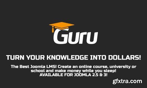 iJoomla - Guru Pro v5.1.2 - LMS Component For Joomla + Plugins & Modules