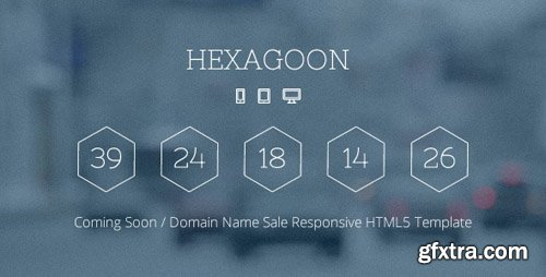 ThemeForest - Hexagoon v1.2 - Coming Soon / Domain Name Sale Template - 5913997
