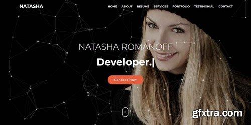 CodeSter - Natasha v1.0 - One Page Portfolio HTML Template - 7392