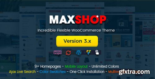 ThemeForest - Maxshop v3.3.0 - Multi-Purpose Responsive WooCommerce Theme (Mobile Layouts Included) - 11452732