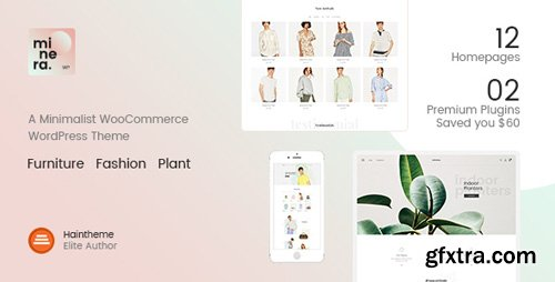 ThemeForest - Minera v2.2.1 - Minimalist WooCommerce WordPress Theme - 20823717