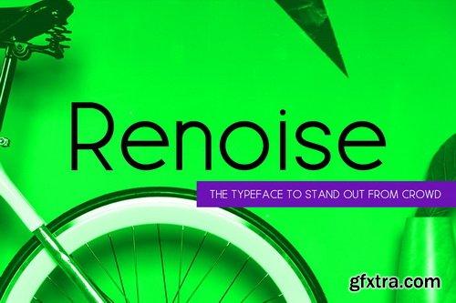 CM - Renoise - A Stylish New Age Typeface - 2651988