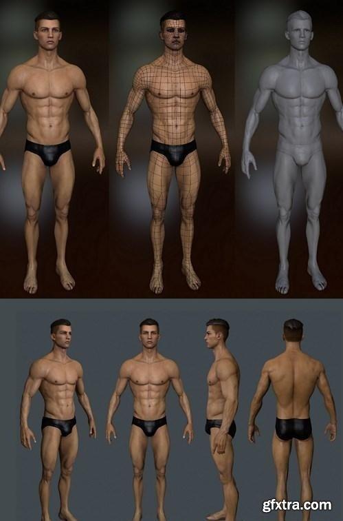 Christianu Ronaldo 3D Model