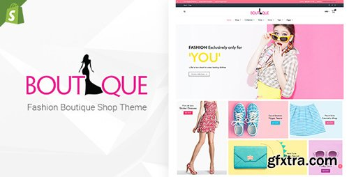 ThemeForest - Fashion Boutique v1.6 - Responsive Shopify Sectioned Theme - 19973891