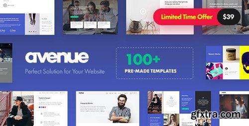 ThemeForest - Avenue v1.2 - Creative Multi-Purpose WordPress Theme - 20463432