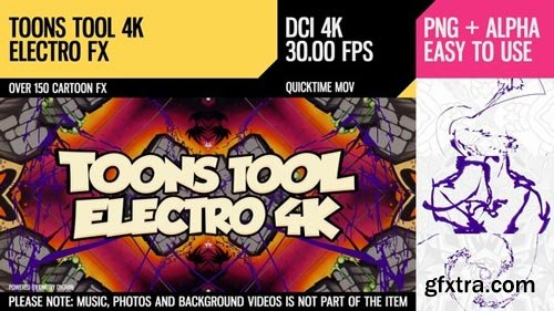 Videohive - Toons Tool 4K (Electro FX) - 21100283