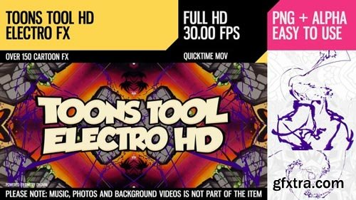 Videohive - Toons Tool HD (Electro FX) - 21202459