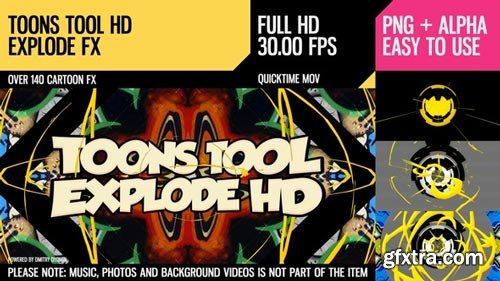 Videohive - Toons Tool HD (Explode FX) - 21202467