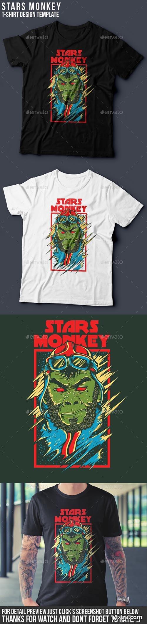 Stars Monkey 9516299