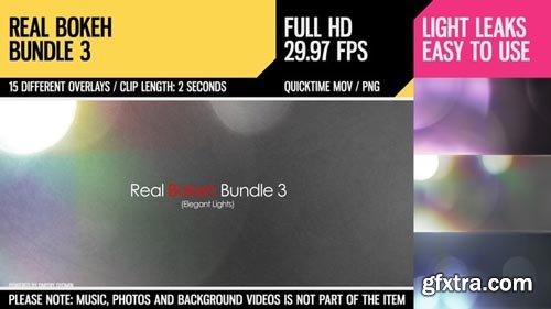Videohive - Real Bokeh Bundle 3 (Elegant Lights) - 4635319