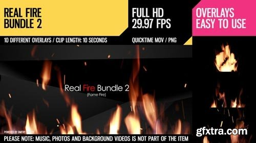 Videohive - Real Fire Bundle 2 - 6781988