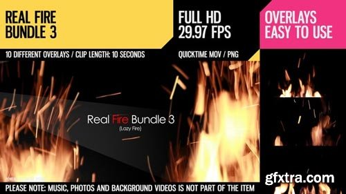 Videohive - Real Fire Bundle 3 - 6788177