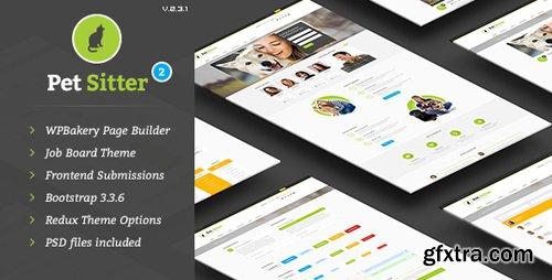 ThemeForest - Pet Sitter v2.3.1 - Job Board Responsive WordPress Theme - 9206865