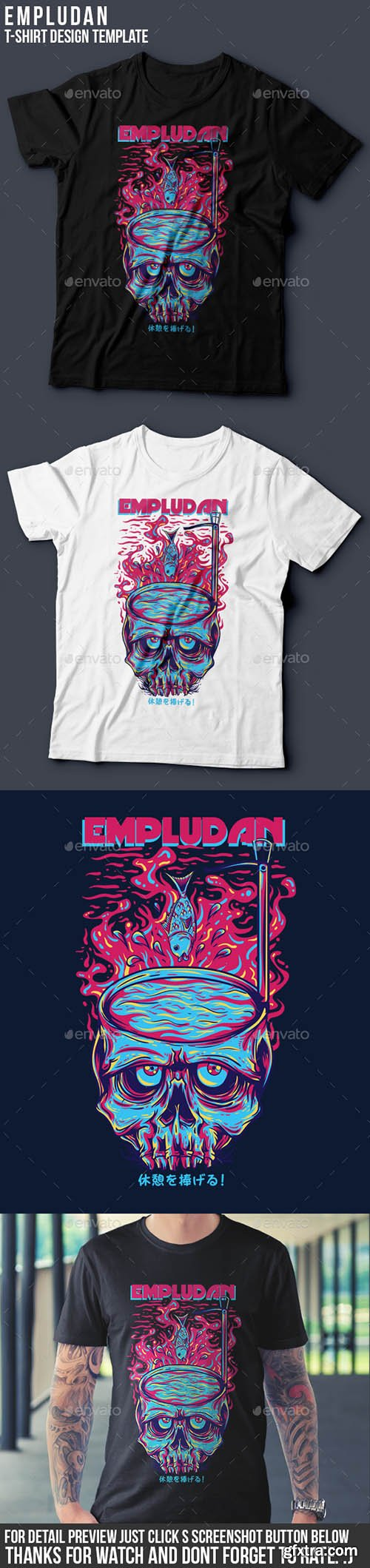 Empludan T-Shirt Design 13199864