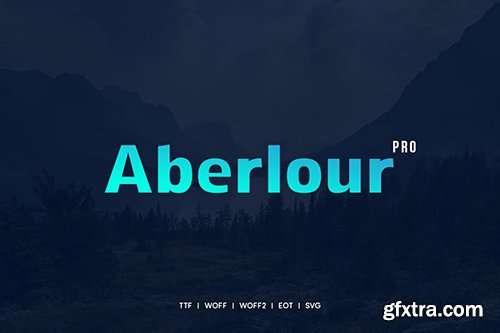 Aberlour - Premium Typeface + WebFonts