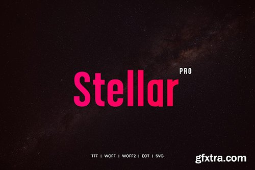 Stellar - Premium Typeface + WebFonts