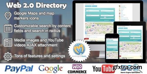 CodeCanyon - Web 2.0 Directory v2.1.1 - plugin for WordPress - 6463373