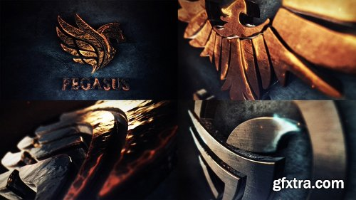 Videohive Legendary 3D Logo Reveal 22023184