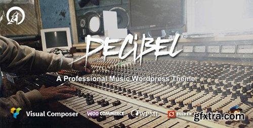 ThemeForest - Decibel v2.3.8 - Professional Music WordPress Theme - 10662261