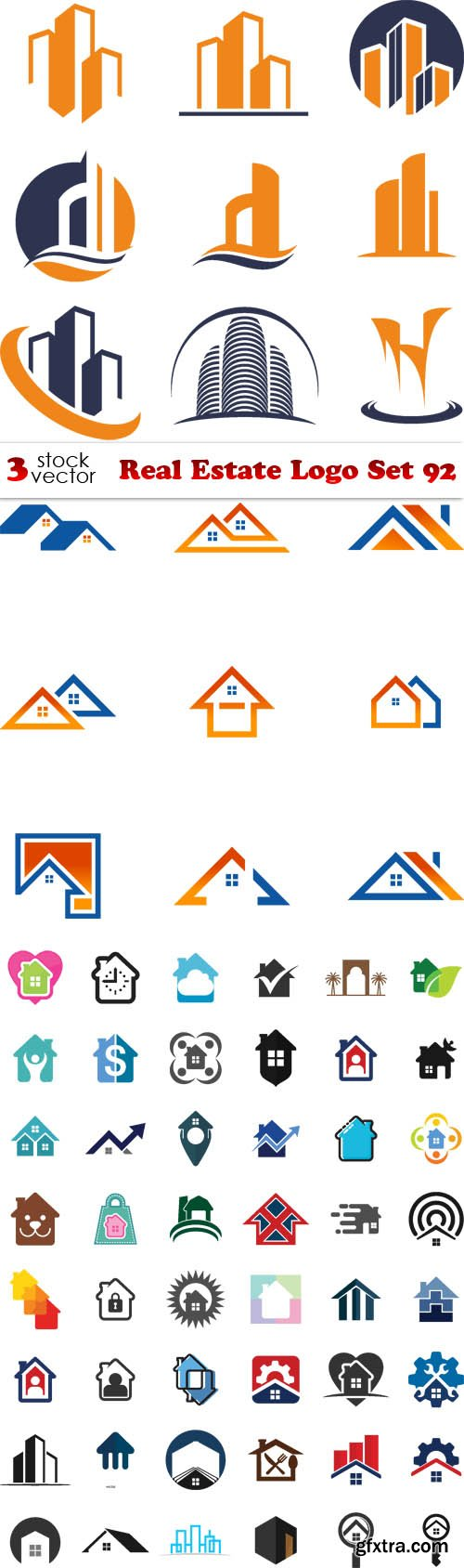 Vectors - Real Estate Logo Set 92