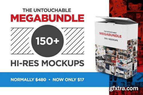 The Untouchable MegaBundle 150+ Hi-Res Mockups