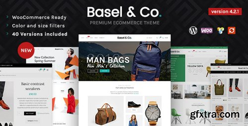 ThemeForest - Basel v4.2.1 - Responsive eCommerce Theme - 14906749