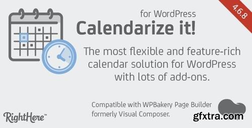 CodeCanyon - Calendarize it! for WordPress v4.6.8.84374 - 2568439
