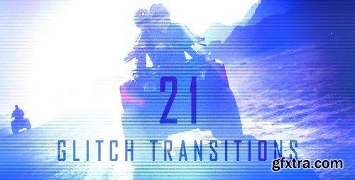Videohive Glitch Transitions 5321462