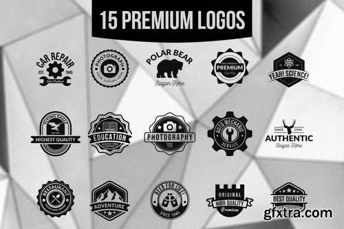 15 Premium Logos