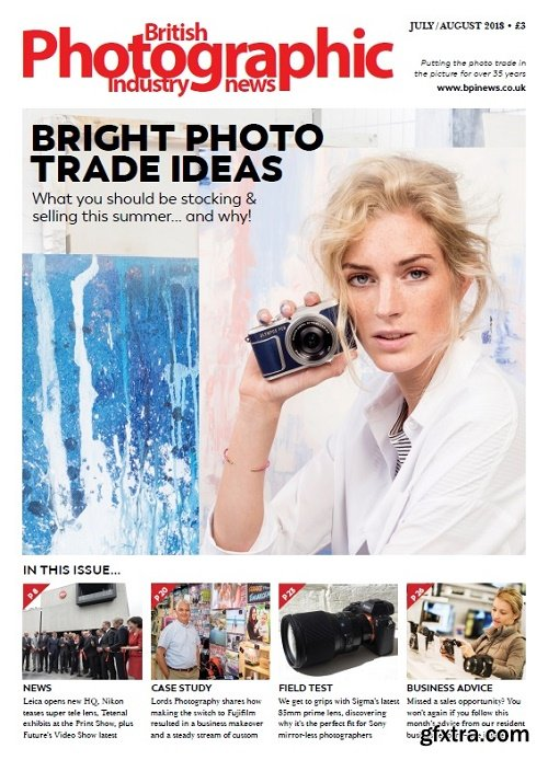 British Photographic Industry News - July-August 2018