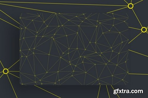 Outline Polygon Tileable Backgrounds