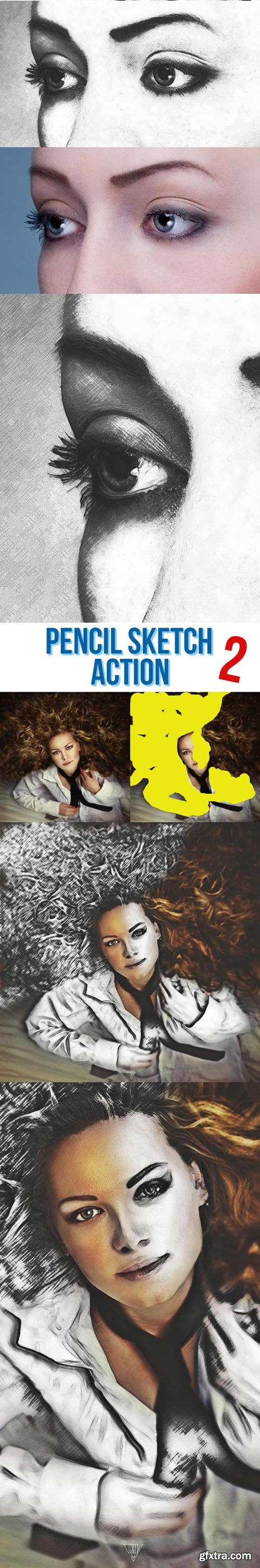 GraphicRiver - Pencil Sketch Bundle - 4 Photoshop Action - 22103984
